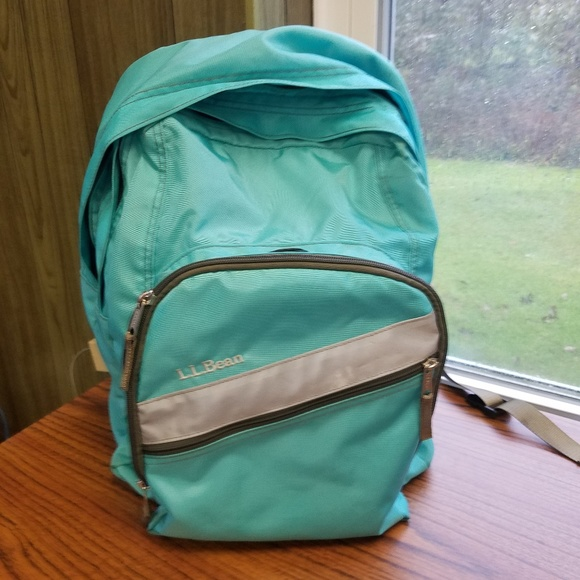 Magnificent Fresh Mint Teal Ll Bean Backpack And Lunch Box Gmtry Best Dining Table And Chair Ideas Images Gmtryco